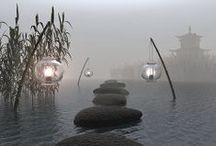 Now and Zen Places / Inspiration for reaching a zen space. / by SpaIndex.com Guide to Spas