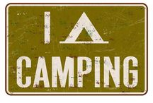 CaMpiNG.. / Fresh air and the sounds of nature, s'mores don't hurt either:) / by Just Eileen