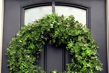 Wreaths and Swags for the Front Door / by Jennifer Palabay