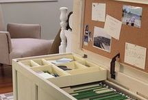 Organized Office & Time / Space and time management strategies and products to help you organize your office and to-do's.