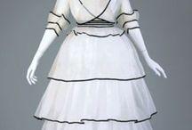 Early 20th Century Fancy Fashion