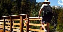 Hiking for Baby Boomers / Hiking travel tips from around the world. Join Pin Ambassadors Leslie Burnside (expect-to-fly.blogspot.com) and yours truly for hiking trails, gear and outdoor adventure. #hiking #babyboomers