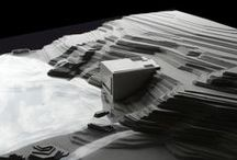 Black Cube Project / Arquitecturas basadas en la forma cúbica. Referencias de áreas de spa. Integración de arquitectura y naturaleza.