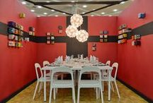 """Make Room: Let's Entertain / Designer vignettes from our 2014 American Craft Council show season. This year's theme for Make Room: Modern Design Meets Craft was """"Let's Entertain."""""""