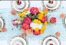 Wedding Flowers / Wedding flowers and design as photographed by Tessa Marie Weddings. www.tessamarie.com