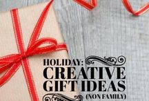Holiday: Gift ideas for non family types / : Gift ideas for work, neighbors, & anyone we generally like or have a gift obligation