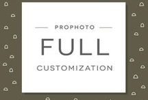 ProPhoto Customization Packages