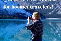 Canada Travel for Baby Boomers / Boomer travel - Canada - Discover where to go, what to do and where to stay when you travel to Canada on a vacation. You'll find plenty of boomer travel adventure, too!