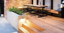 Sth Coogee Project / Design Ideas for a tiered backyard with different zones.