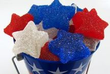 The 4th of July / Treats, decorations, and other good ideas for 4th of July parties or get-togethers.