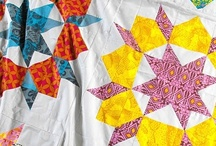 Quilts / A collection of finished quilts, quilt tutorials, and inspirational patterns. / by Fabric Paper Glue