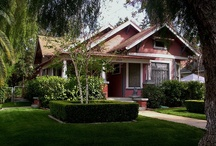 Bungalows / Fueling my obsession of bungalow / craftsman / arts & crafts homes / by Fabric Paper Glue