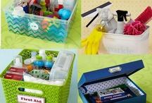 Organization Smorganization / by Megan Caristi
