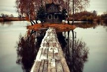 Cabin Fever... / by Cindy Adrian