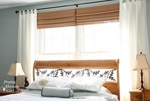 Home Decor - Layered Window Treatments / by Fabric Paper Glue