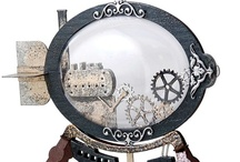 Steampunk Crafts / Make your own fabulous Steampunk crafts and art! / by Globecraft & Piccolo