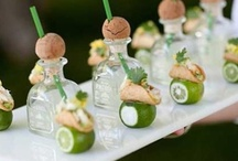 Fabulous Food Presentations / Simple to fun, unexpected to unlike anything else. These presentations are perfect for any cocktail style event