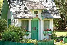 """Little Houses / Ideas for the little home(s) I will have someday- inside and out. A companion board for """"Decor""""."""