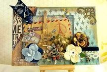 "KathyB Crafting:  Books, Boxes, Albums etc / Kathy's crafting: Mini Books, Notebooks, Albums, Decorated ""stuff"""
