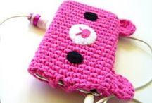 z crochet bag/pouch/cozy/basket / by jaznak