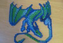 x perler hama beads / by jaznak