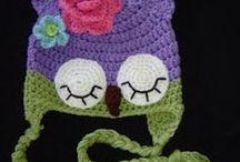 z crochet hats/earwarmers/headbands / by jaznak