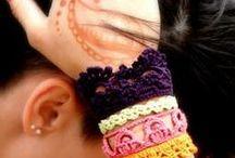 z crochet gloves/mittens/cufs/bracelets / by jaznak