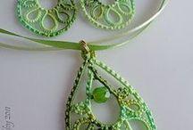 z crochet jewelry/earrings/necklaces/broches/rings / by jaznak