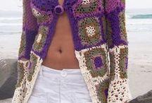 z crochet tops/shrugs/jackets/sweaters / by jaznak