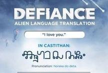 GEEK: Defiance! / by Christina Walton