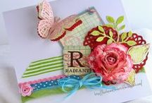 KathyB Crafting:  Flowery / A place to store my crafty flowery  makes