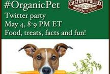 #OrganicPet Twitter Party for Castor & Pollux / Promoting Organix products such as new treats, food supplements and organic food for pets