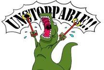 T-Rex!! / T-Rex humor, porque es el mejor  / by Daniela