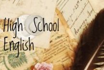 ELA / Pins to support High School English.