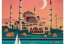 Vintage Travel <3 / Vintage travel, antique travel, old fashioned travel, travel posters