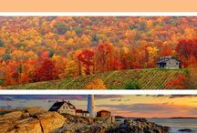 Fall Travel / Autumn travel ideas, fall travel destinations, Halloween travel, foliage travel, where to see fall leaves, travel in the autumn, autumn getaways, fall trips, fall road trips