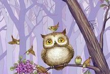 I love owls / by Edith van Witzenburg