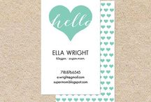 Business Cards / by Tiffany Kuehl Designs