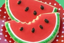 Summer-themed crafts, food ideas, and all-around cute projects