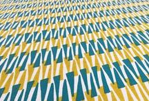 Hand Printed Fabrics by Sarah Waterhouse