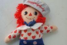 Raggedy Ann / My favorite doll since Christmas of 1977! / by Caroline Privette