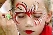 face paintig