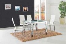 Mesa y sillas de salon / En este tablero os mostramos las distintas maneras de decorar con mesas y sillas de salón . / by Decoratelacasa .com