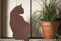 Trend  |  Rust / Our rusty red outdoor friends are the perfect garden accessory, no matter what size your outdoor space is > http://ow.ly/yaxd7 / by Cox & Cox