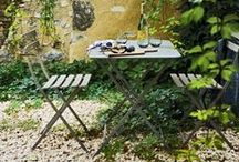 SS15  |  Trend  |  Rustic Romance / As the weather gets warmer, your outside space becomes a room for relaxing and entertaining. Take inspiration from rustic French decor for a garden that exudes faded elegance... / by Cox & Cox