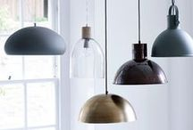 AW15 | Lighting / Whatever your interior style, we have stunning new lighting that will add character and ambience to every room in your home.   From metallic pendants in copper and brass to neutral lights in natural materials, take a look at our hand-picked range of lighting solutions > http://ow.ly/RrC24 / by Cox & Cox