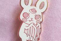 p i n s / Fashion enamel soft metal pins cute design cats style