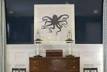 Nautical Guest Bedroom / by Courtney Hill
