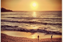 Bondi Beach / The gorgeous surf, sun and sand at Australia's iconic Bondi Beach