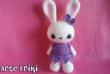 Amigurumis Arte Friki / I have made all of them ^^